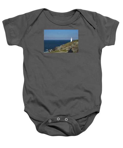 Trevose Head Lighthouse Baby Onesie