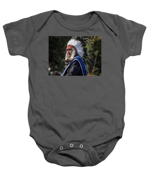 Tribal Elder Baby Onesie