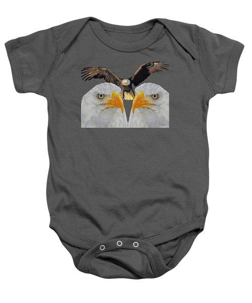 Triple Eagle Baby Onesie