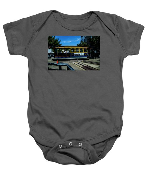 Trolley Car Turn Around Baby Onesie