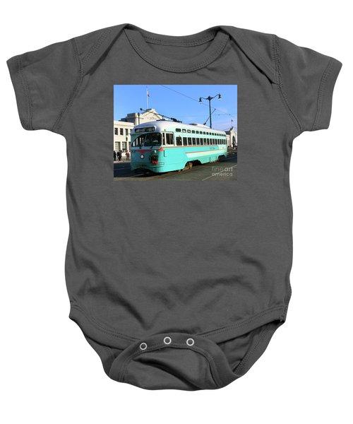 Trolley Number 1076 Baby Onesie
