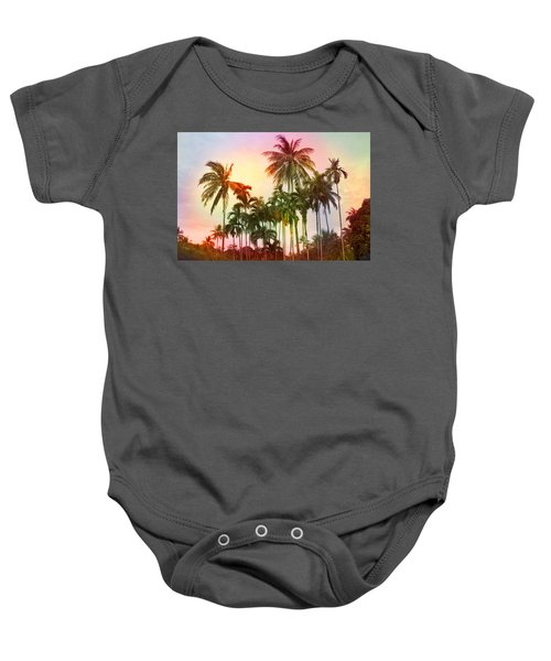 Tropical 11 Baby Onesie