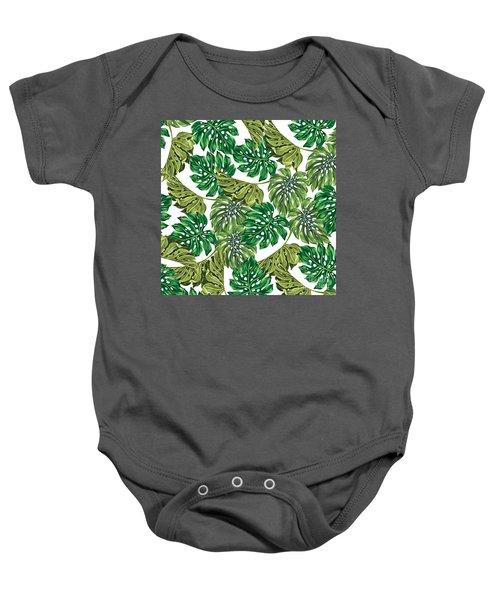 Tropical Haven  Baby Onesie