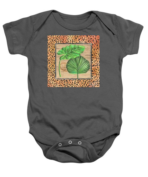 Tropical Palms 1 Baby Onesie
