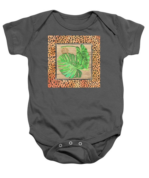 Tropical Palms 2 Baby Onesie