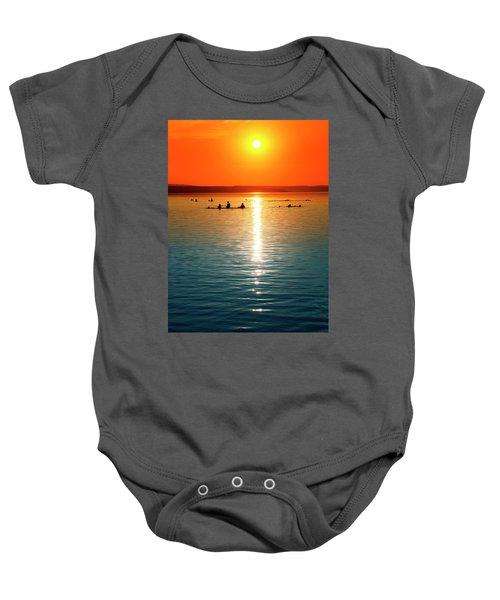 Tropicana Swimming Baby Onesie