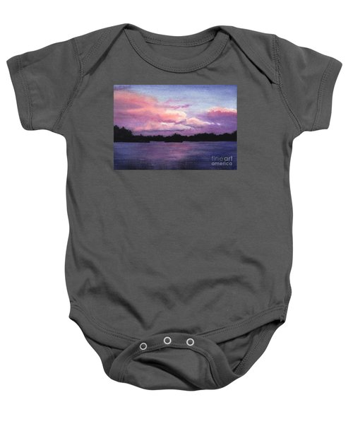 Trout Lake Sunset I Baby Onesie