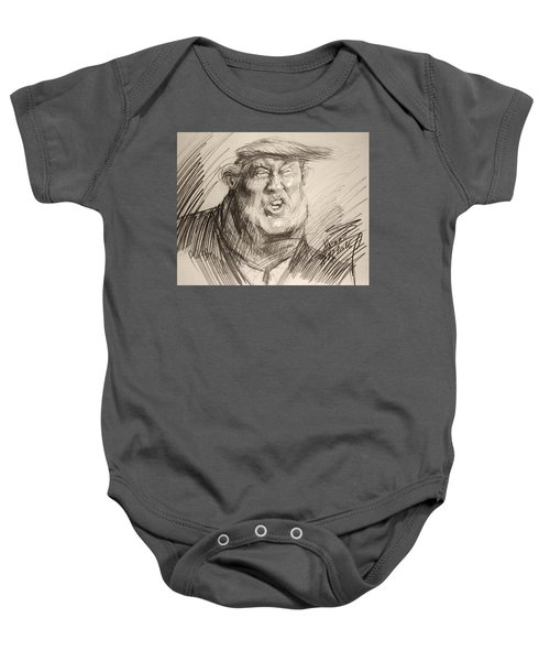 Trump-the Womanizer For President Baby Onesie