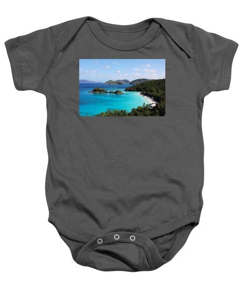 Trunk Bay, St. John Baby Onesie