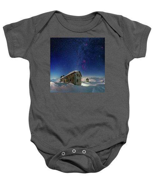 Tschuggen Observatory Baby Onesie