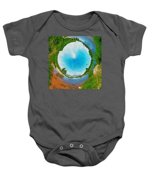 Tubular Panorama Deventer Baby Onesie