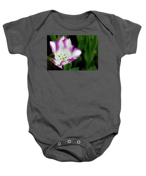 Tulip Flower Baby Onesie