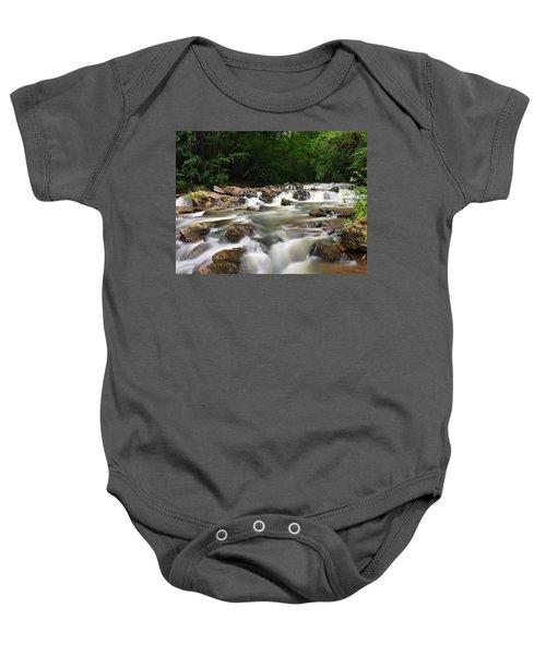 Tumbling Waters Baby Onesie