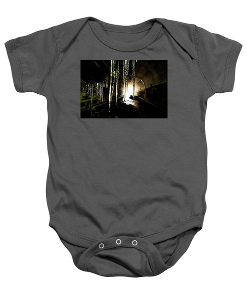 Tunnel Icicles Baby Onesie