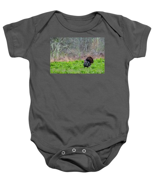 Baby Onesie featuring the photograph Turkey And Cabbage by Bill Wakeley