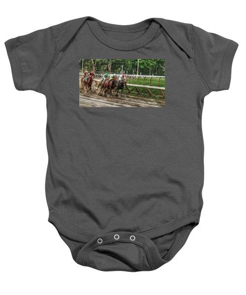 Turning The Mud Baby Onesie