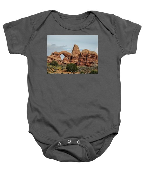 Turret Arch Baby Onesie