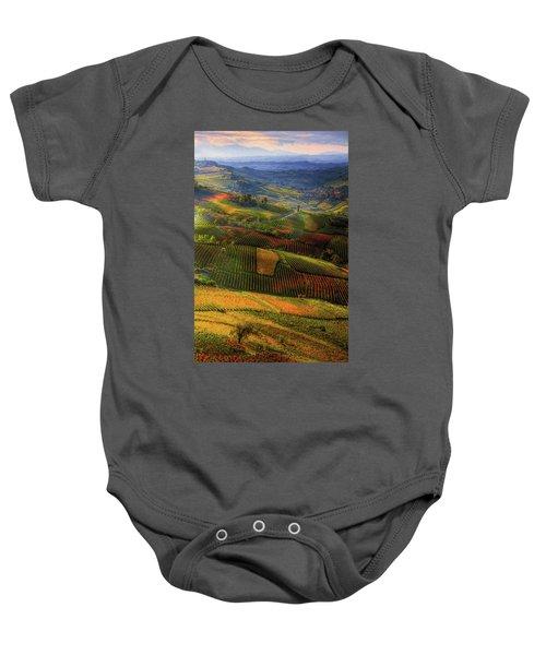 Tuscany, Italian Wineyards  Baby Onesie