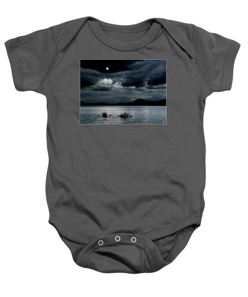 Twice In A Blue Moon Baby Onesie