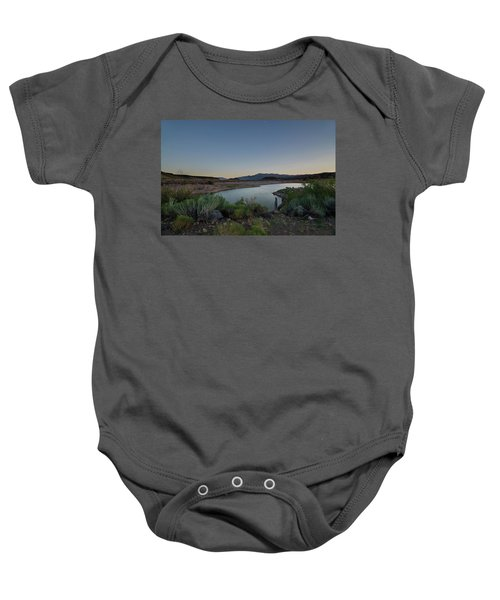 Twilight In The Desert Baby Onesie