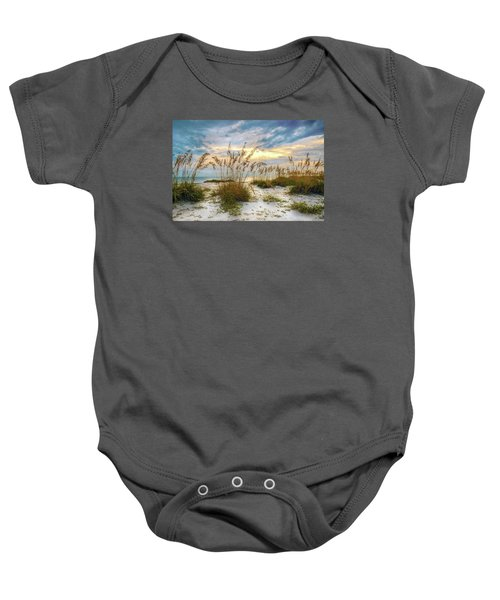 Twilight Sea Oats Baby Onesie