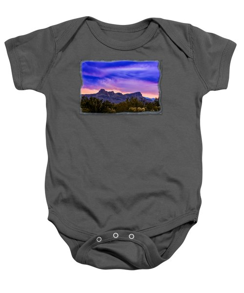 Twin Peaks H30 Baby Onesie by Mark Myhaver
