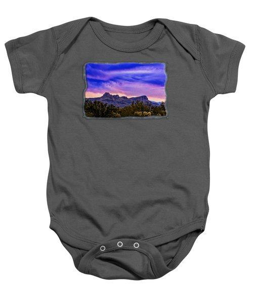 Twin Peaks H31 Baby Onesie by Mark Myhaver