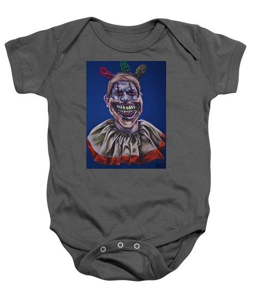 Twisty The Clown  Baby Onesie