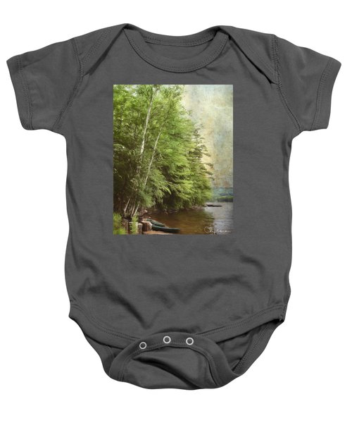 Two Birches Baby Onesie