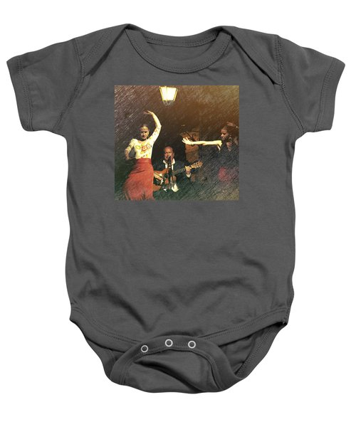 Two For Flamenco Baby Onesie