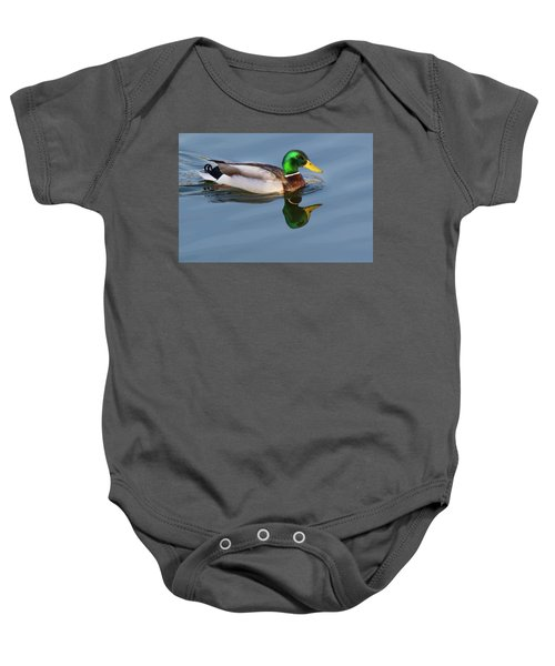 Two Headed Duck Baby Onesie
