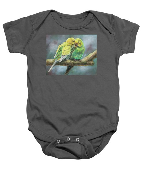 Two Of A Kind Baby Onesie