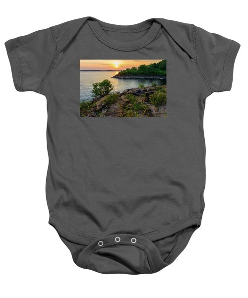 Two Rivers Trail Baby Onesie