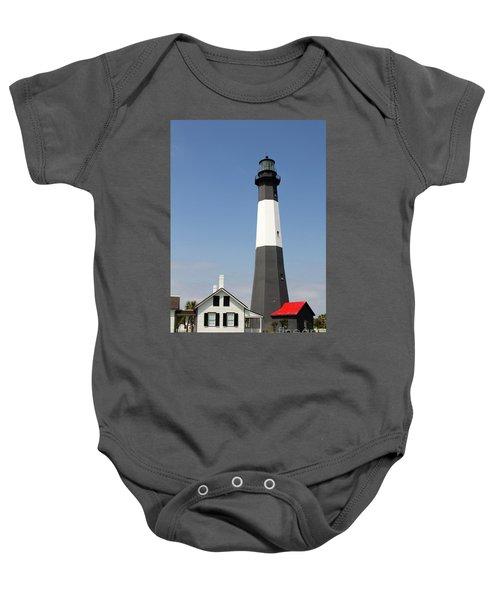 Tybee Lighthouse Georgia Baby Onesie