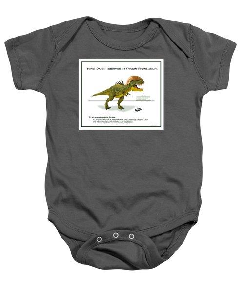 Tyrannosaurus Rump Baby Onesie