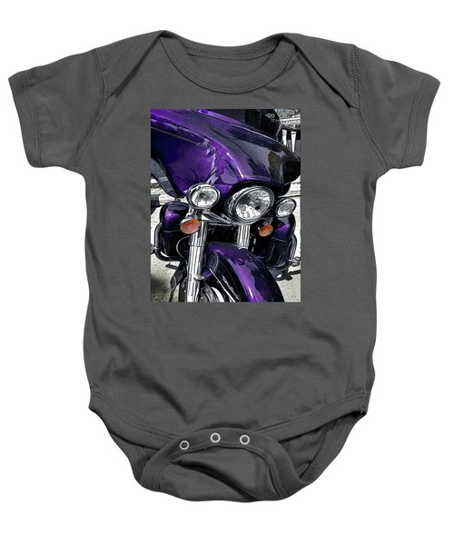 Ultra Purple Baby Onesie