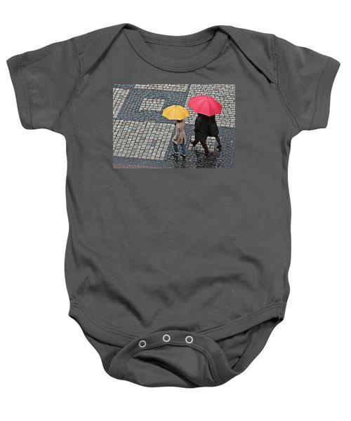 Rainy Day In Heidelberg Baby Onesie
