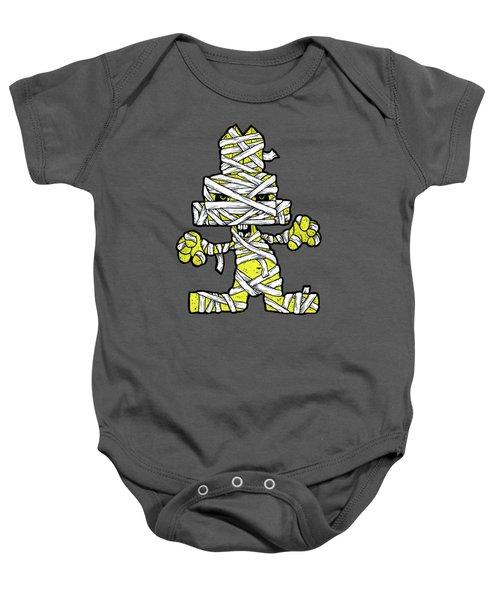 Undead Bunny Baby Onesie by Bizarre Bunny
