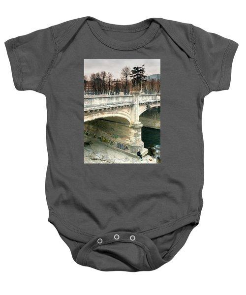 Under The Bridge Baby Onesie