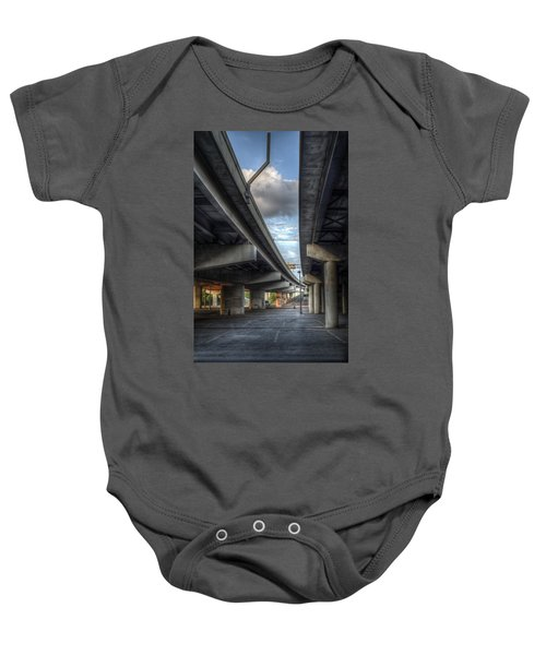 Under The Overpass II Baby Onesie