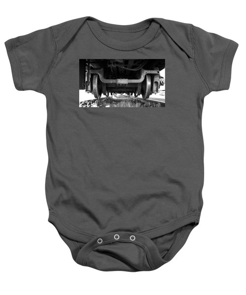 Under The Train Baby Onesie