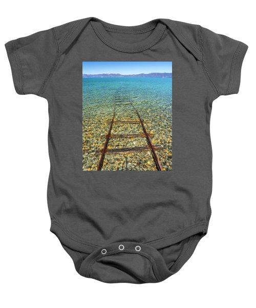 Underwater Railroad Baby Onesie