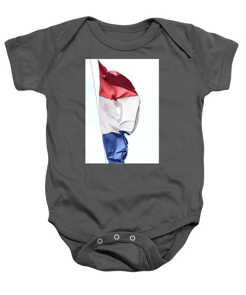 Baby Onesie featuring the photograph Unfurl 01 by Stephen Mitchell