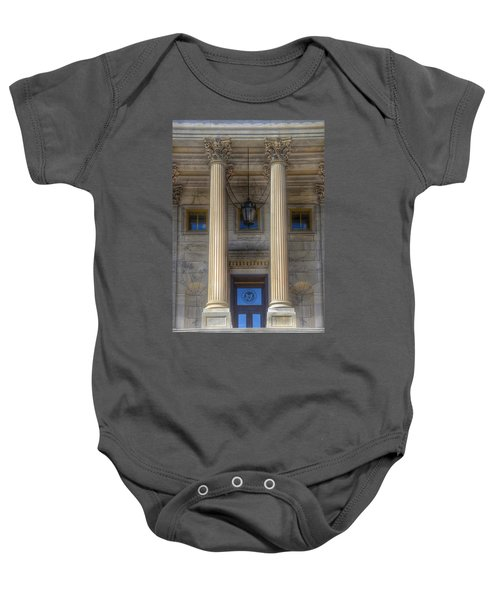 United States Capitol - House Of Representatives  Baby Onesie