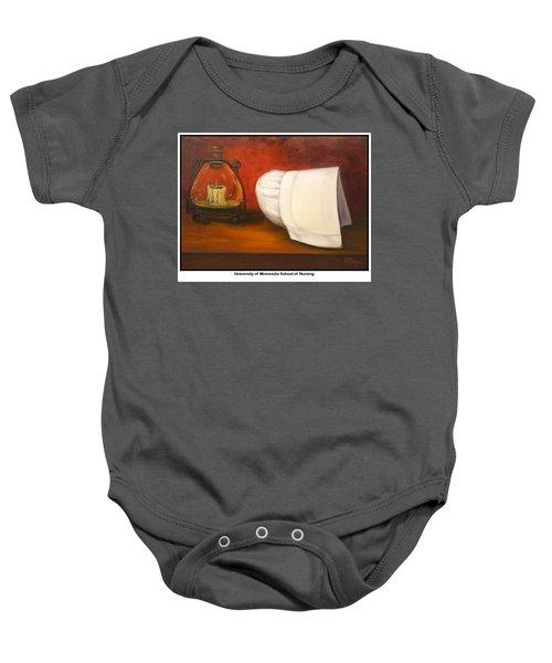 University Of Minnesota School Of Nursing Baby Onesie by Marlyn Boyd