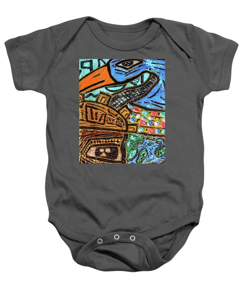 Untitled Olmec And Tehuti Baby Onesie