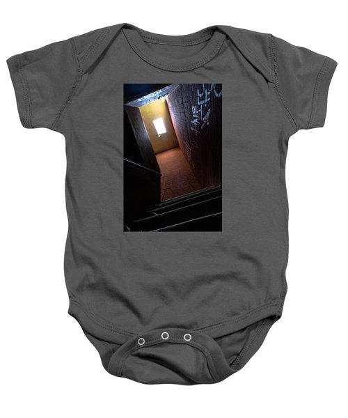 Up The Stairs Baby Onesie