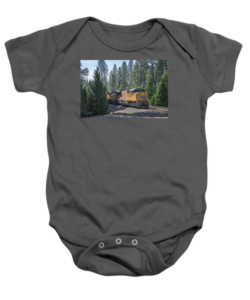 Baby Onesie featuring the photograph Up8968 by Jim Thompson