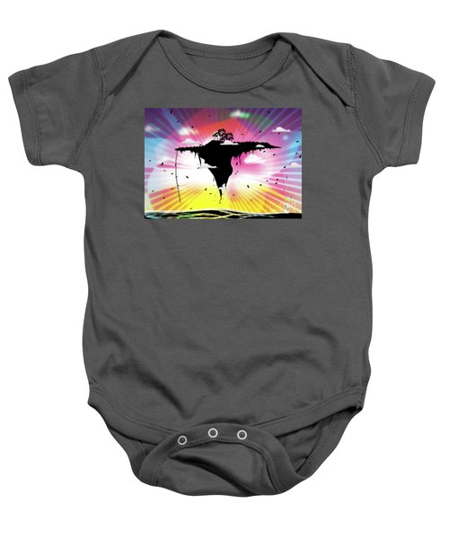 Ups And Downs Baby Onesie