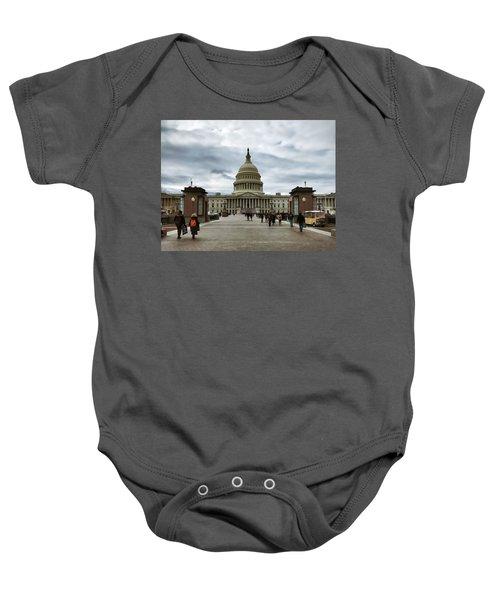 U.s. Capitol Building Baby Onesie